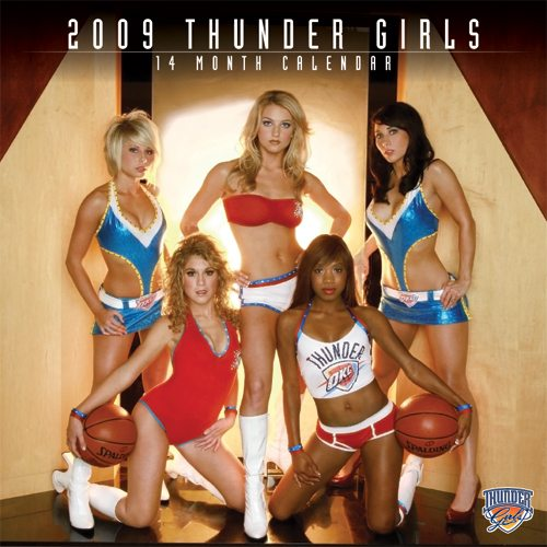 It announced that Thunder fans were going to pick the final Thunder Girl