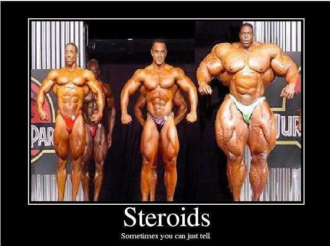 using steroids to get ripped