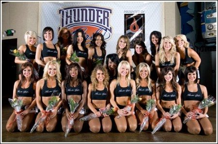 thunder girls