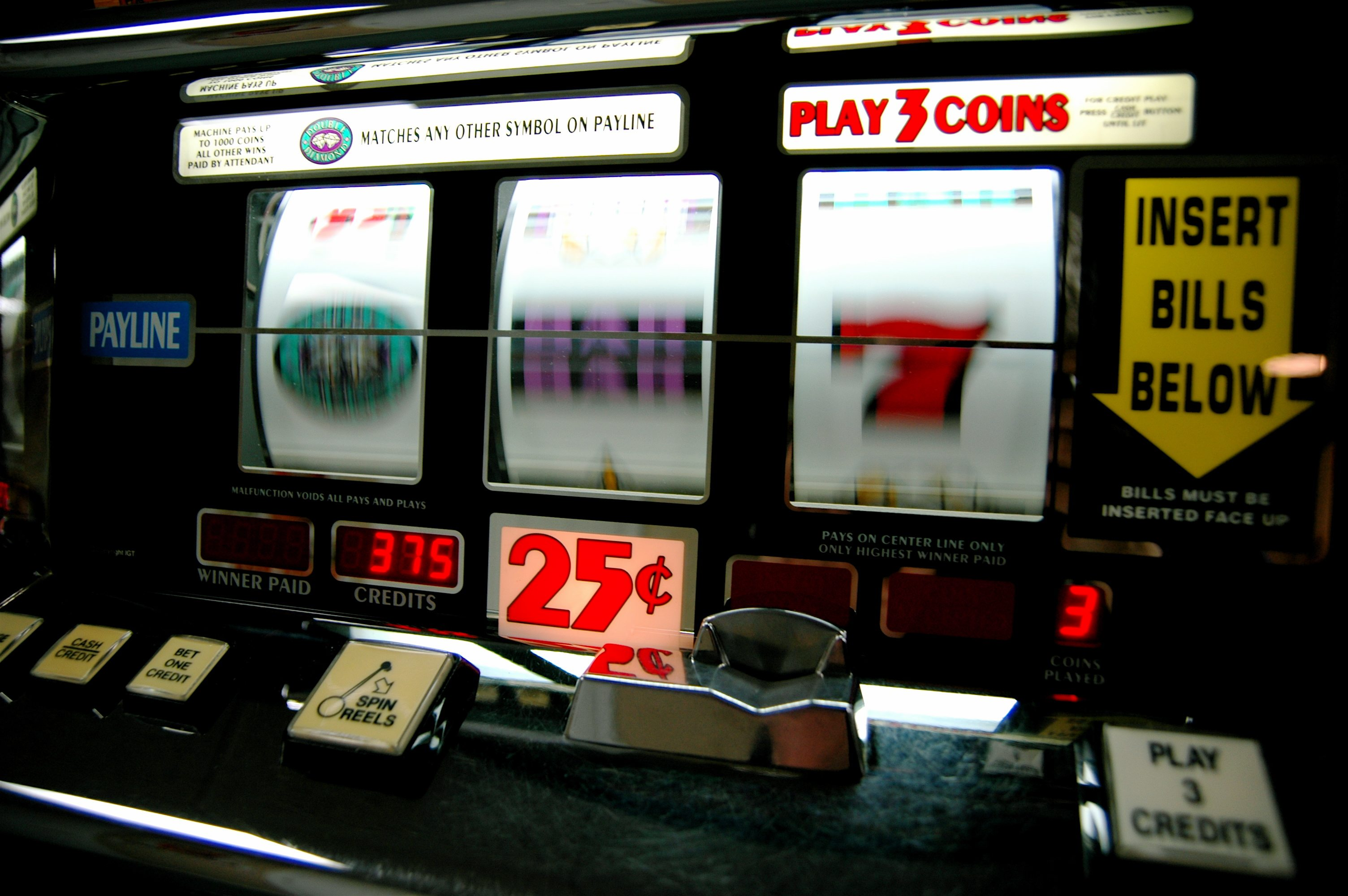 slot machine effect