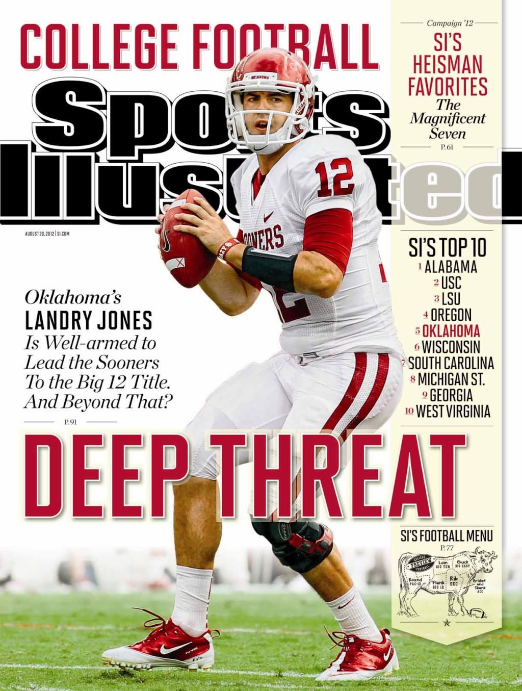 show me football covers college football forum
