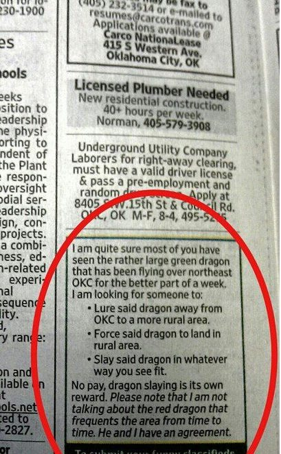 http://www.thelostogle.com/wp-content/uploads/2012/12/green-dragon-classified-ad.jpg