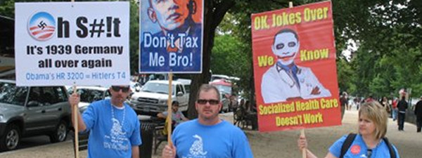tea party signs