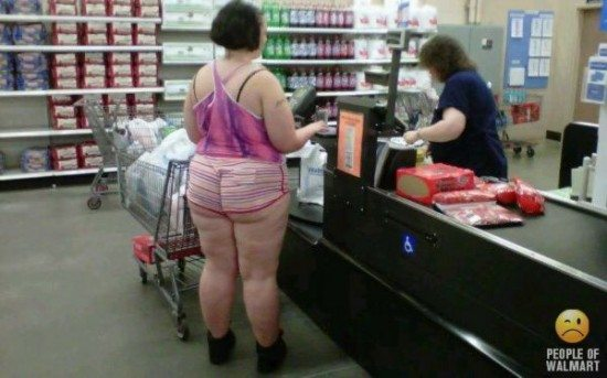 Big Butt In Walmart