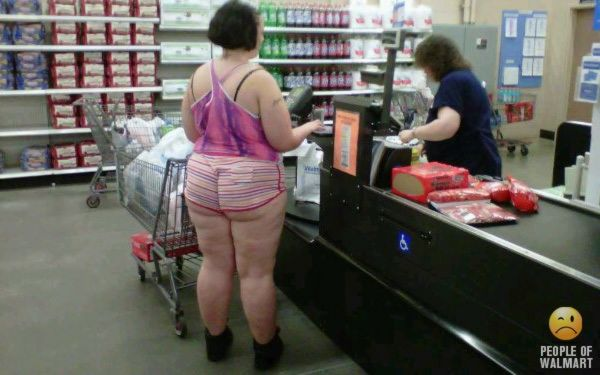 People Of Walmart Has Reached A New Low Pictures to pin on ...