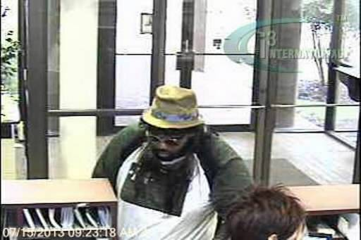 hipster bank robber