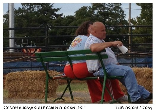 A 2013 OK State Fair - That poor bench