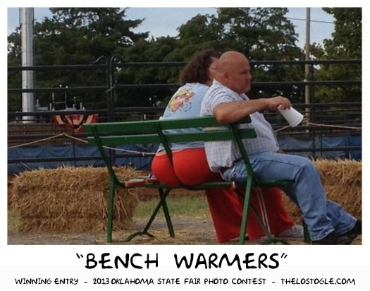 bench warmers state fair photo contest