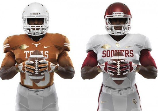 texas-oklahoma-red-river-rivalry-gold-jerseys