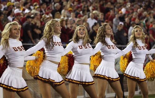 usc cheerleaders