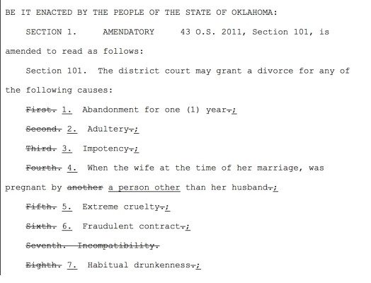 oklahoma divorce