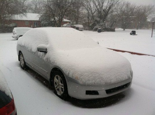winter weather car