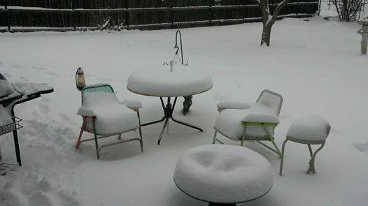 winter weather patio furniture