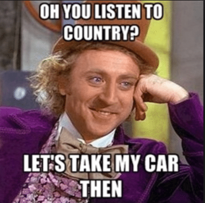 country music sucks