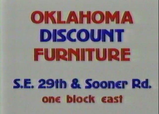 Oklahoma Discount Furniture Commercial