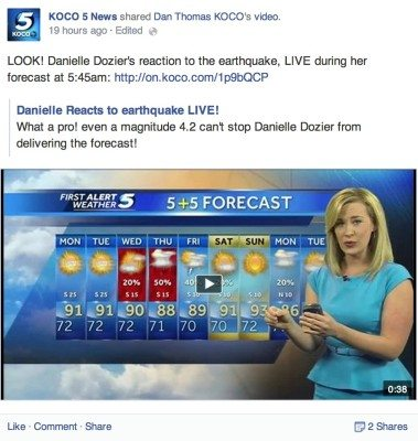 KOCO Earthquake 3