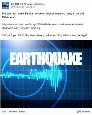 KOKH earthquake
