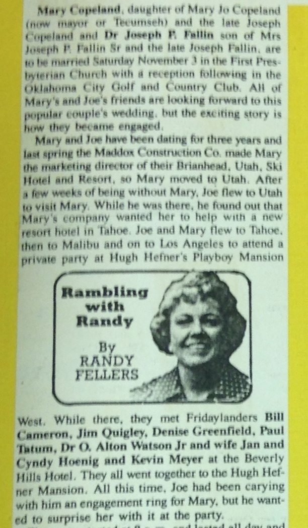 mary fallin playboy article