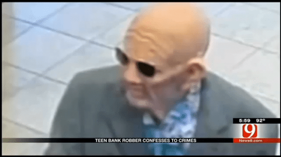Old Man bankrobber