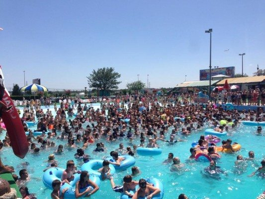 Wave Pool White Water Bay Oklahoma City