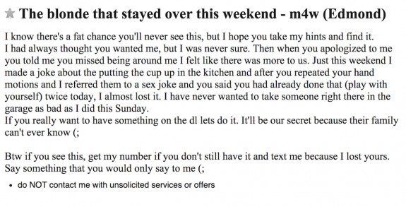 missed connections craigslist funny