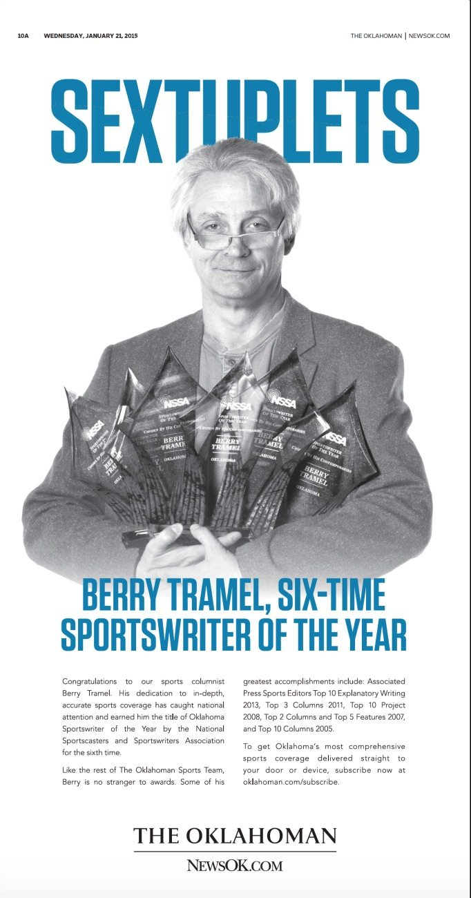 berry tramel awards