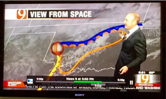 david payne weather dong