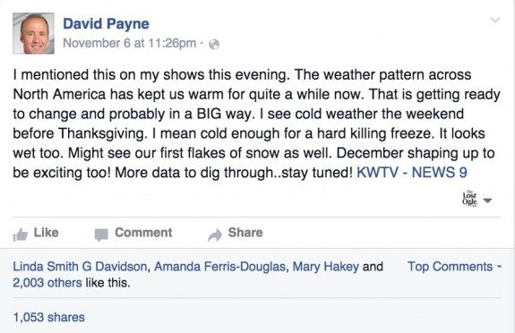 david payne winter weather hype