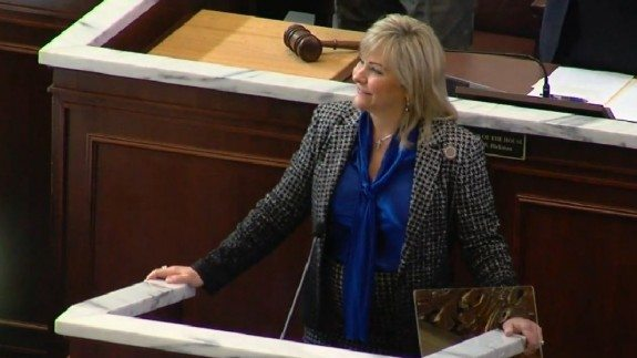 mary fallin state of state