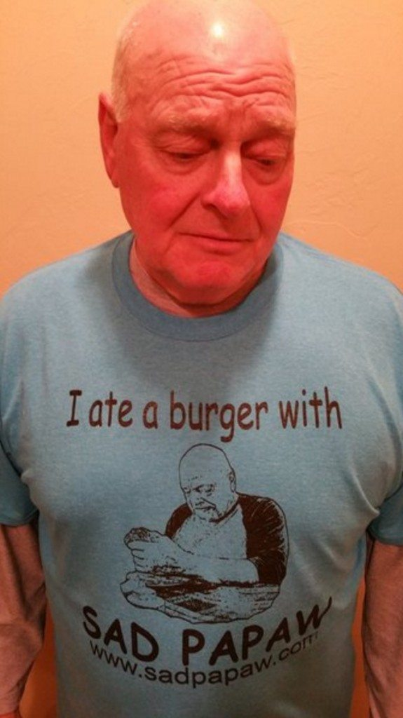 sad papaw shirt