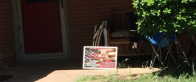 joe exotic yard sign