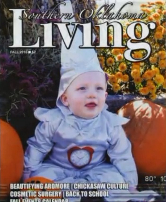 kkk tin man baby  sc 1 st  The Lost Ogle & Futuristic Robot Klansman baby makes cover of Southern Oklahoma ...