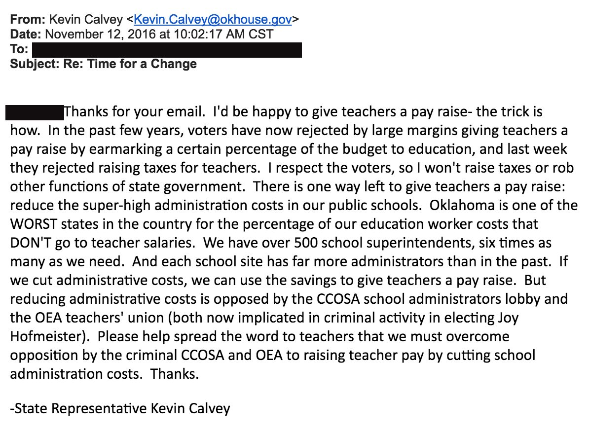 10 ways to give oklahoma teachers a raise the lost ogle listen calvey there are 49 other states who are doing a better job of funding education than oklahoma sure youll copy other states when it comes to xflitez Gallery