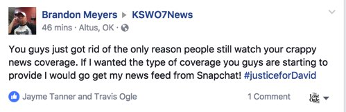 KSWO parts ways with longtime anchor  Lawtonians are pissed