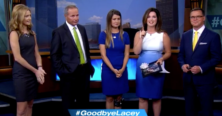 News 9 milked Lacey Swope's departure for all it's worth