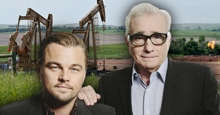 Martin Scorsese and Leonardo DiCaprio are working on a movie