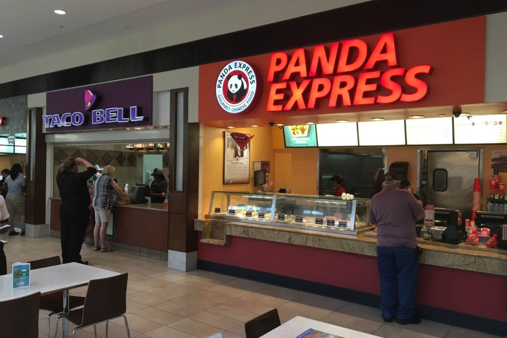 Days of Food Courts Past: Remembering the Penn Square Mall ...  |Mall Food